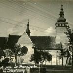 Kościół w Wapienicy w 1951 roku