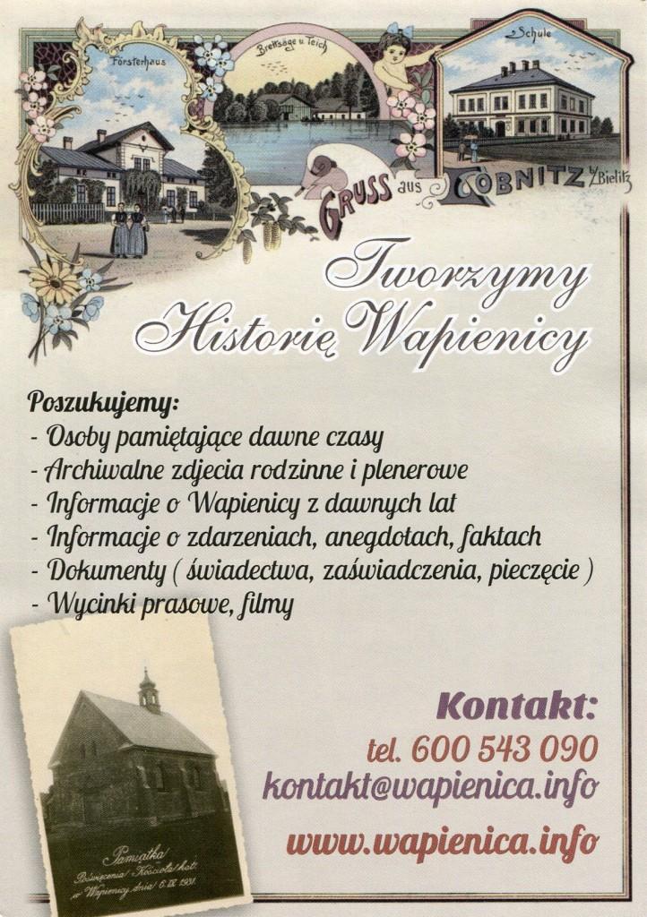 Plakat wapienica-lobnitz