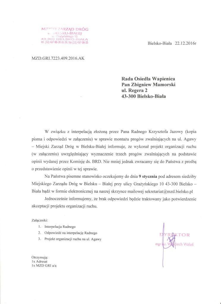 pismo jazowy