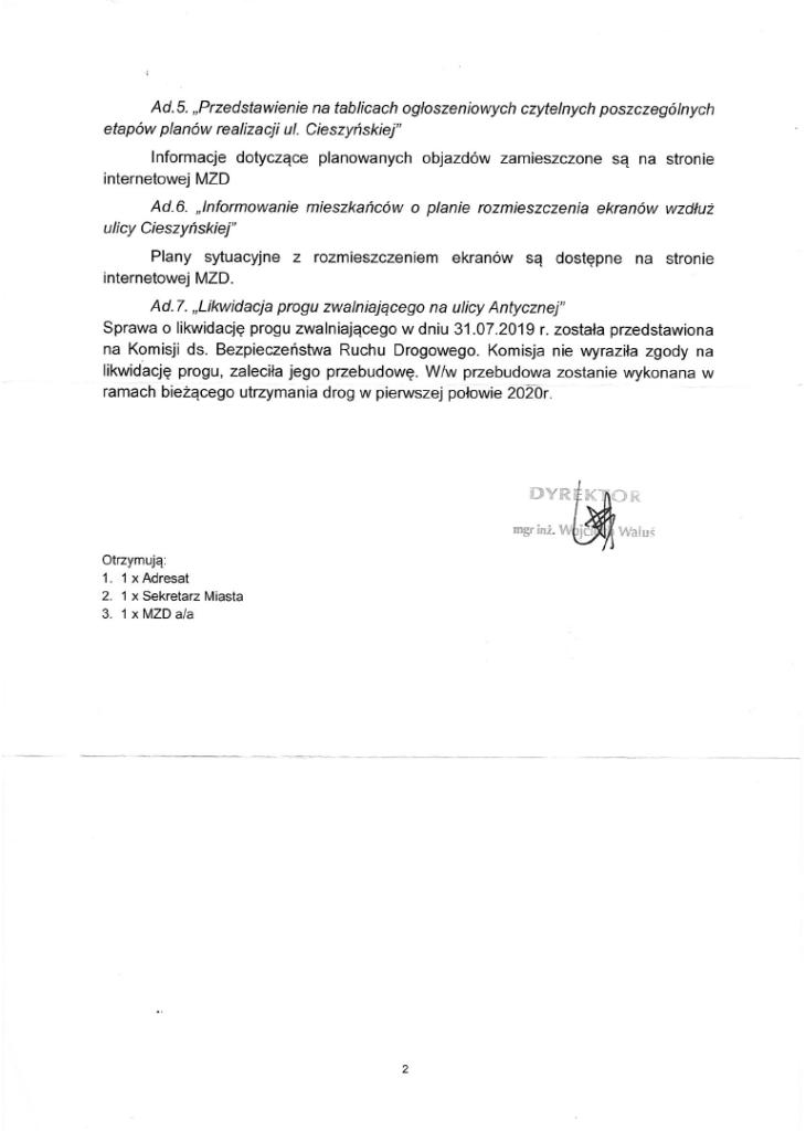 wnioski i problemy dzwonkowa filona mazurska 2